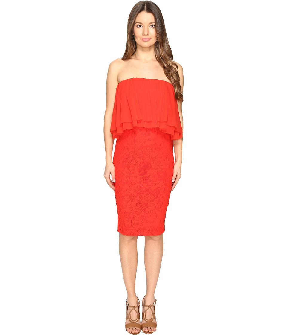 FUZZI Strapeless Dress