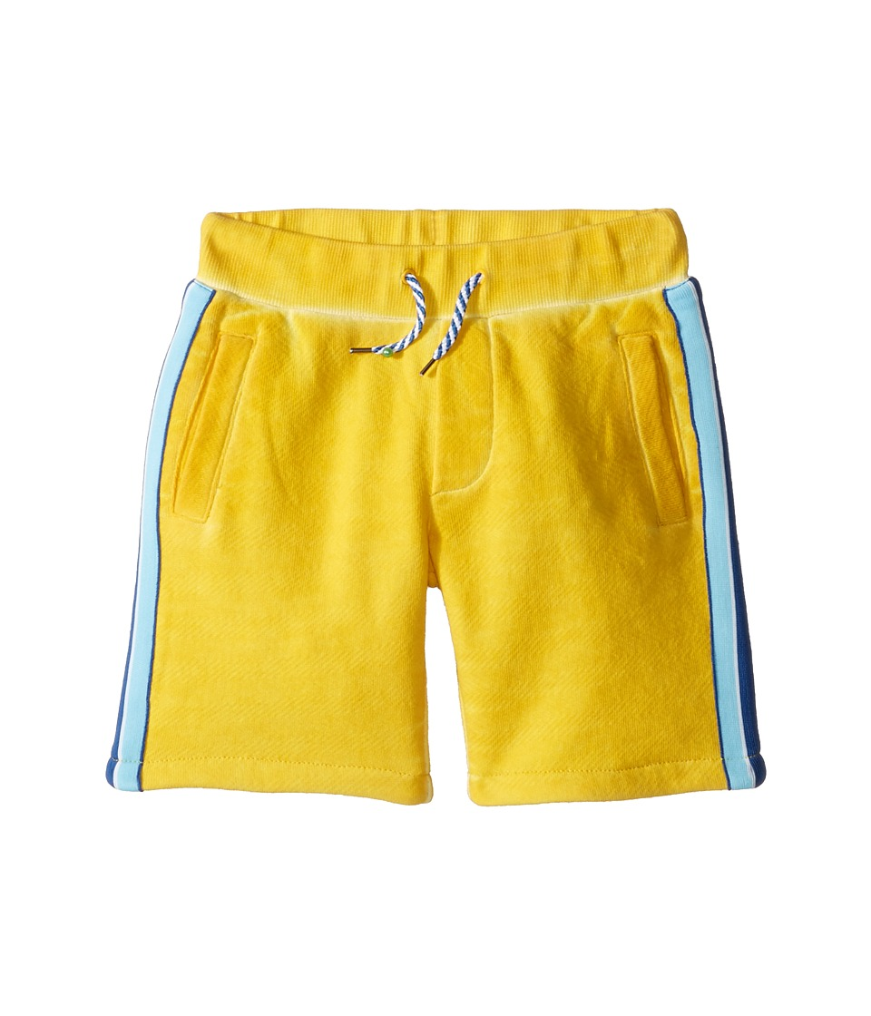 Little Marc Jacobs - Jersey Shorts with Pocket Detail (Toddler/Little Kids) (Medium Yellow) Boy's Shorts