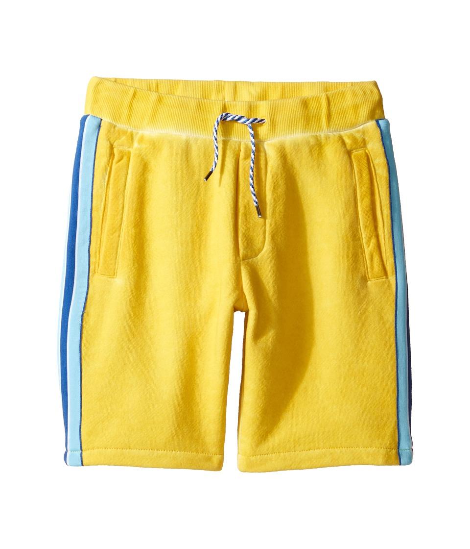 Little Marc Jacobs - Jersey Shorts with Pocket Detail (Little Kids/Big Kids) (Medium Yellow) Boy's Shorts