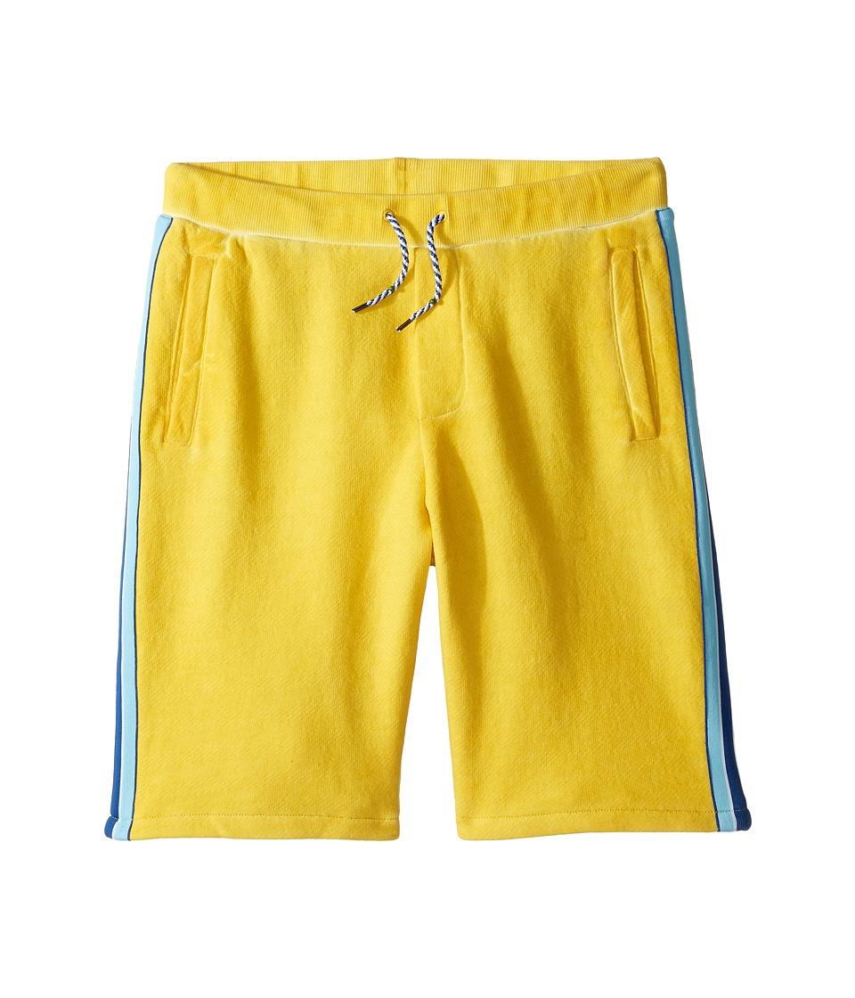 Little Marc Jacobs - Jersey Shorts with Pocket Detail (Big Kids) (Medium Yellow) Boy's Shorts