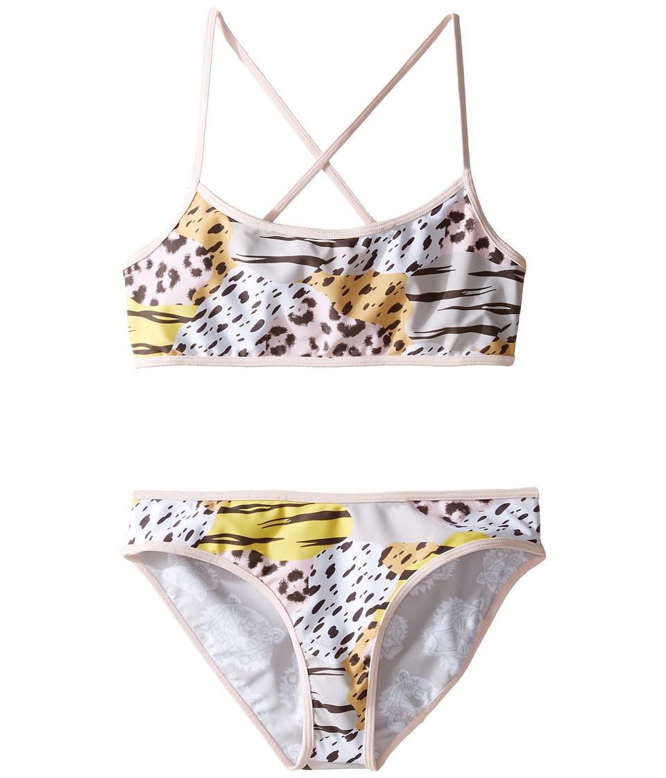 Kenzo Kids - Beaute Bain Two-Pieces (Big Kids) (Pink) Girl's Swimwear Sets