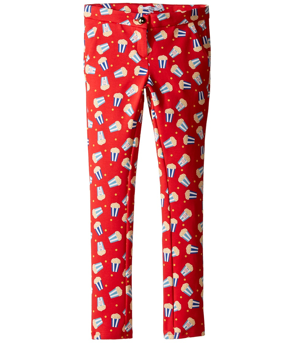 Little Marc Jacobs - All Over Printed Pop Corn Trousers (Little Kids/Big Kids) (Pop Red) Girl's Casual Pants