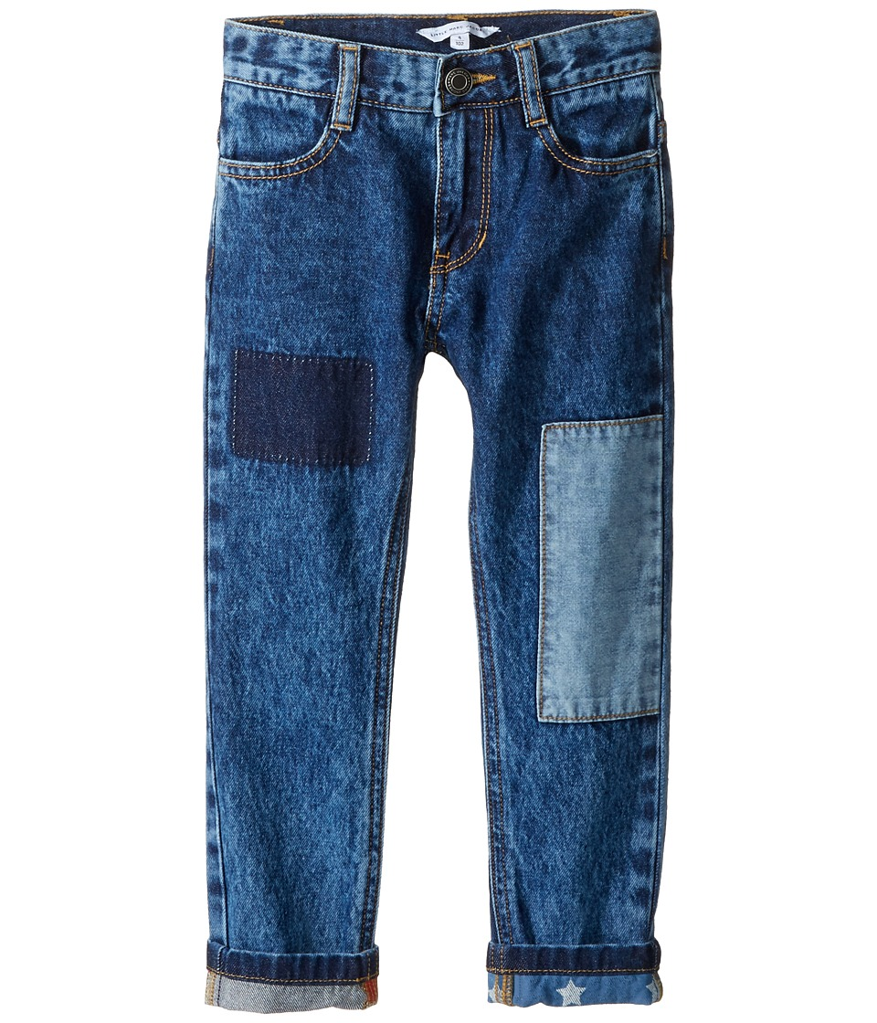 Little Marc Jacobs - Denim Trousers (Toddler/Little Kids) (Denim Blue) Boy's Jeans