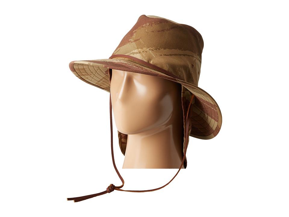 Brixton - Arroyo Bucket Hat (Camo) Traditional Hats