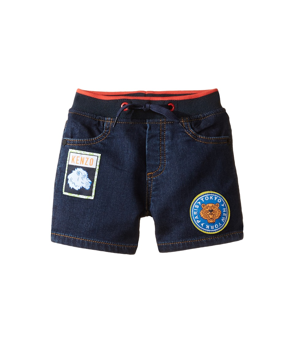 Kenzo Kids - Byby Bermuda (Infant) (Dark Indigo) Boy's Shorts