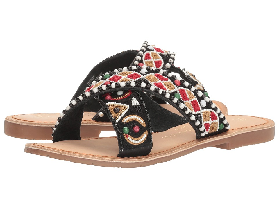 Chinese Laundry - Purfect (Black Leather) Women's Sandals