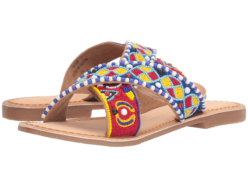 Chinese Laundry - Purfect (Cognac Leather) Women's Sandals
