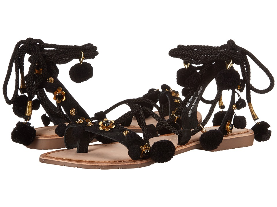Chinese Laundry - Portia (Black Suede) Women's Sandals