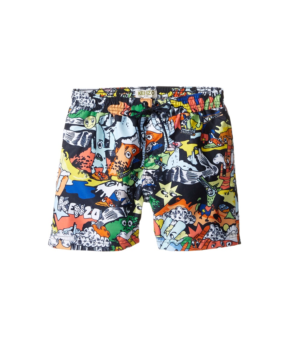 Kenzo Kids - Bonus Boxer (Toddler/Little Kids) (Multicolor) Boy's Swimwear