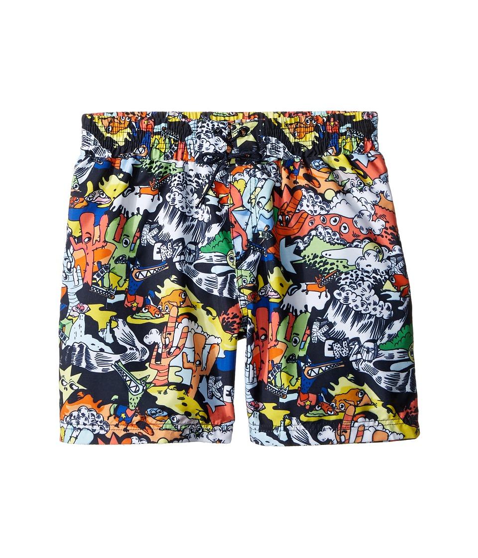 Kenzo Kids - Bonus Boxer (Big Kids) (Multicolor) Boy's Swimwear