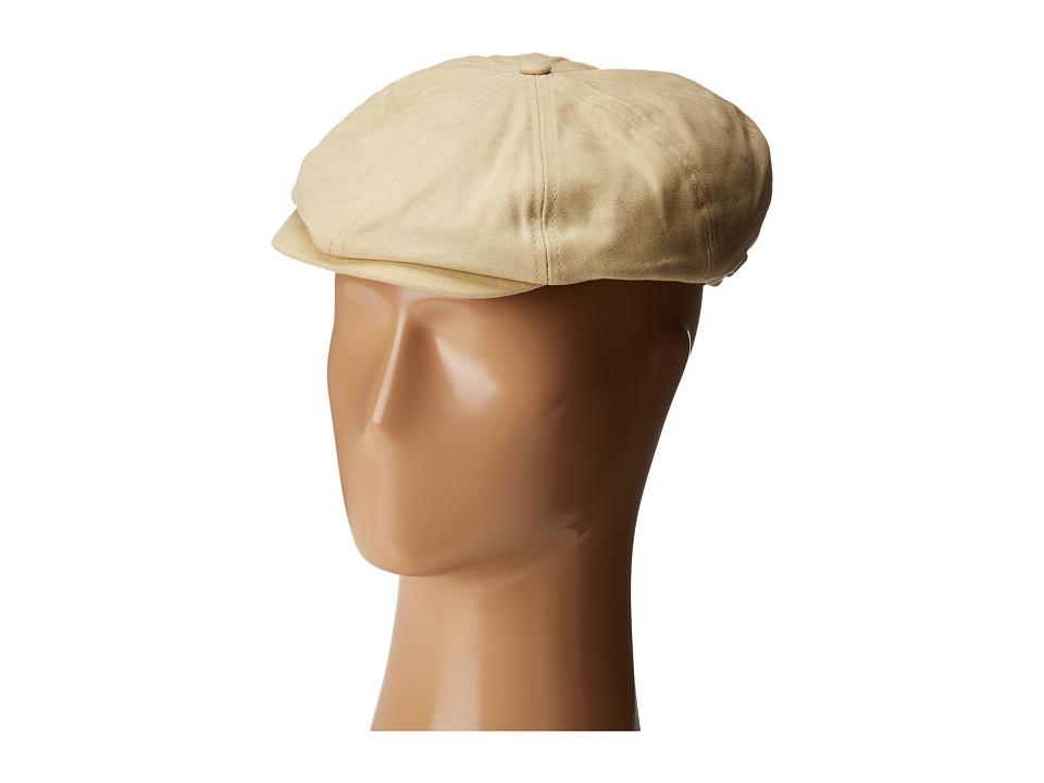 Brixton - Brood Snap Cap (Off-White) Caps