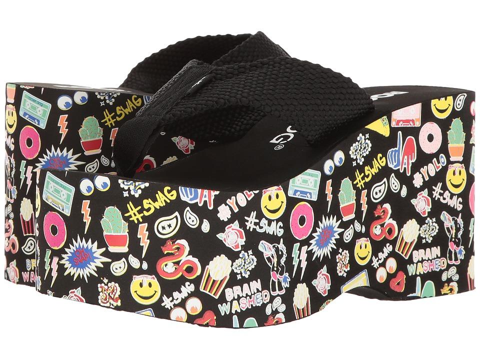 Rocket Dog - Bigtop (Black Swag) Women's Sandals