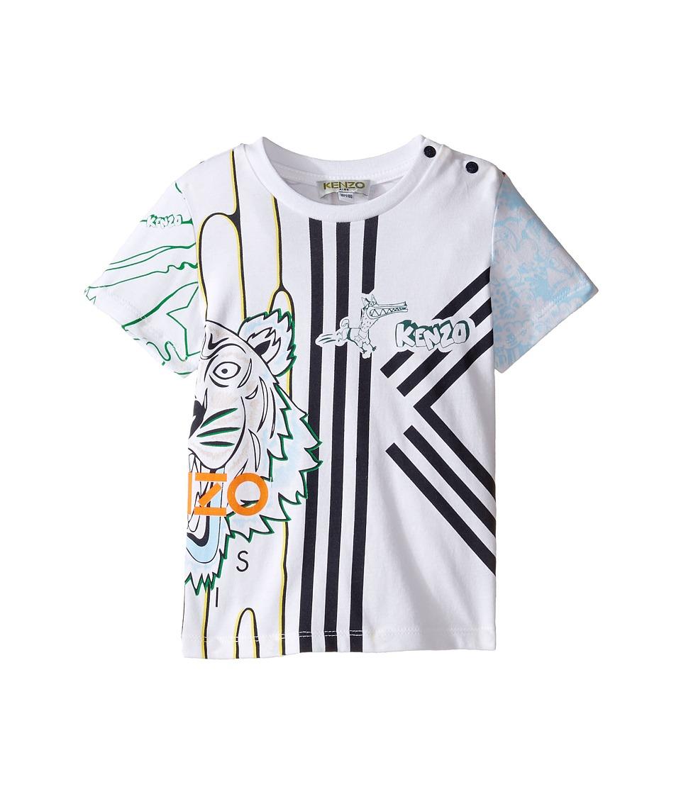Kenzo Kids - Boubou Tee Shirt (Infant) (Blanc) Boy's T Shirt