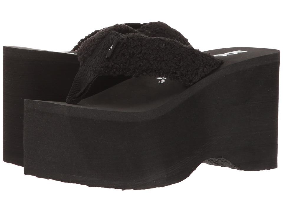 Rocket Dog - Bigtop (Black Snow Bunni) Women's Sandals