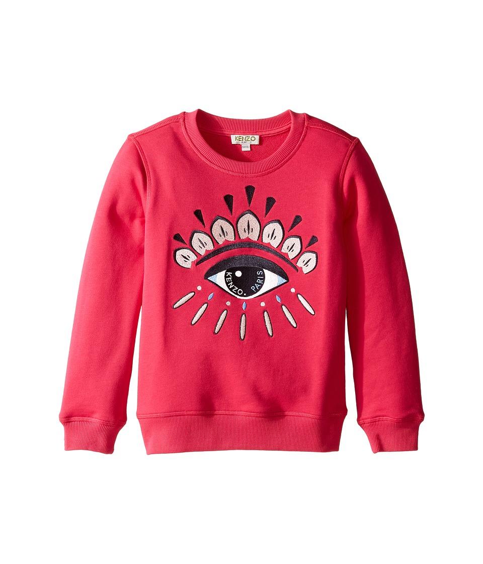 Kenzo Kids - Bella O Sweatshirt (Big Kids) (Fuchsia) Girl's Sweatshirt