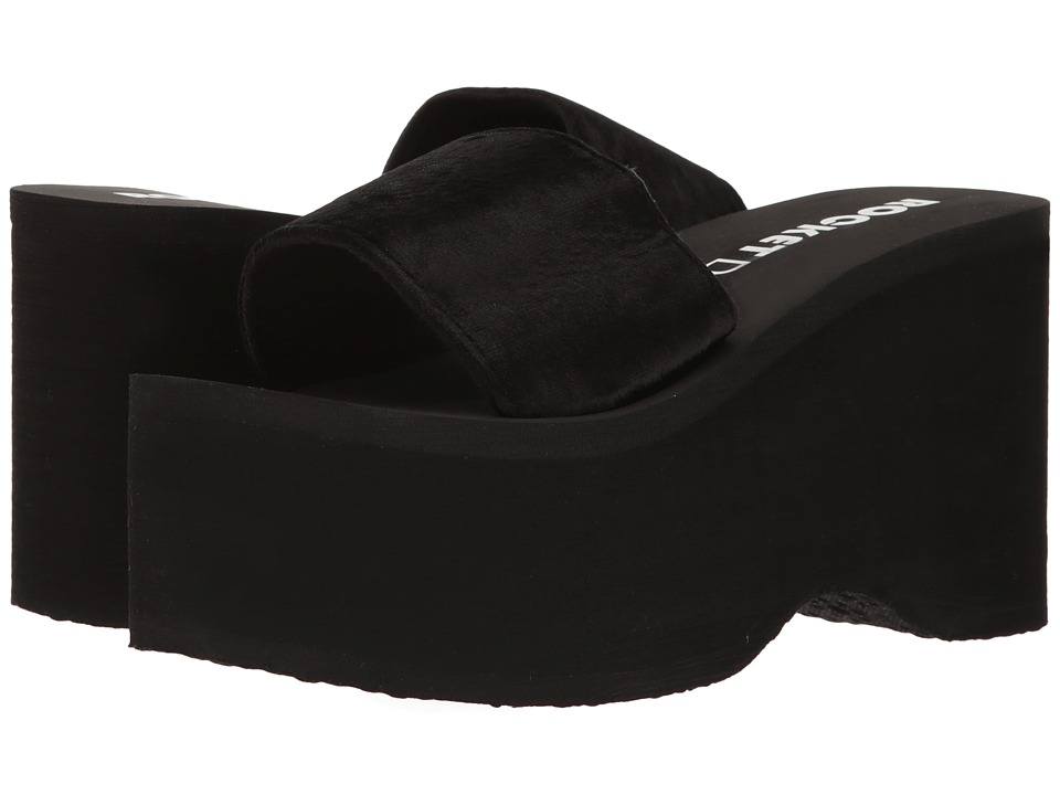 Rocket Dog - Boom (Black Velvet) Women's Sandals