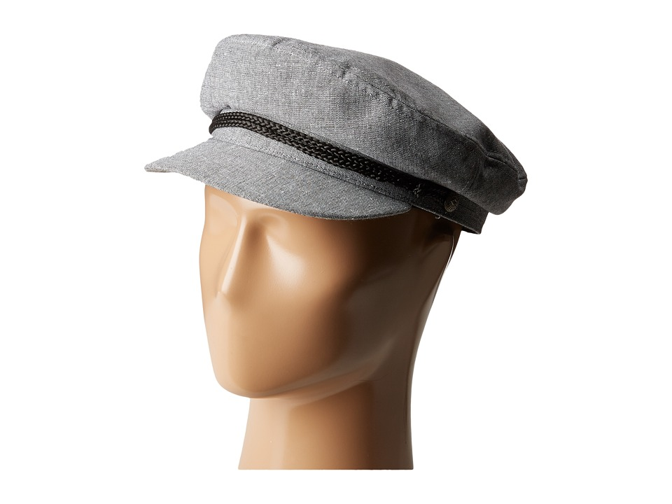 Brixton - Fiddler (Grey Chambray) Traditional Hats