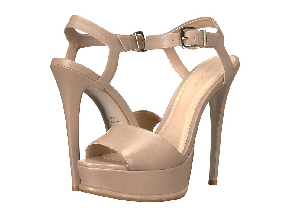 Massimo Matteo Stiletto Ankle Strap (Desert) Women
