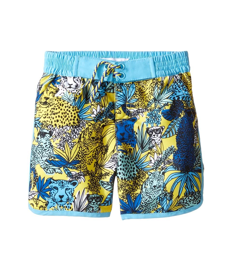 Little Marc Jacobs - Surfer Shorts (Infant) (Jaune/Bleu) Boy's Shorts