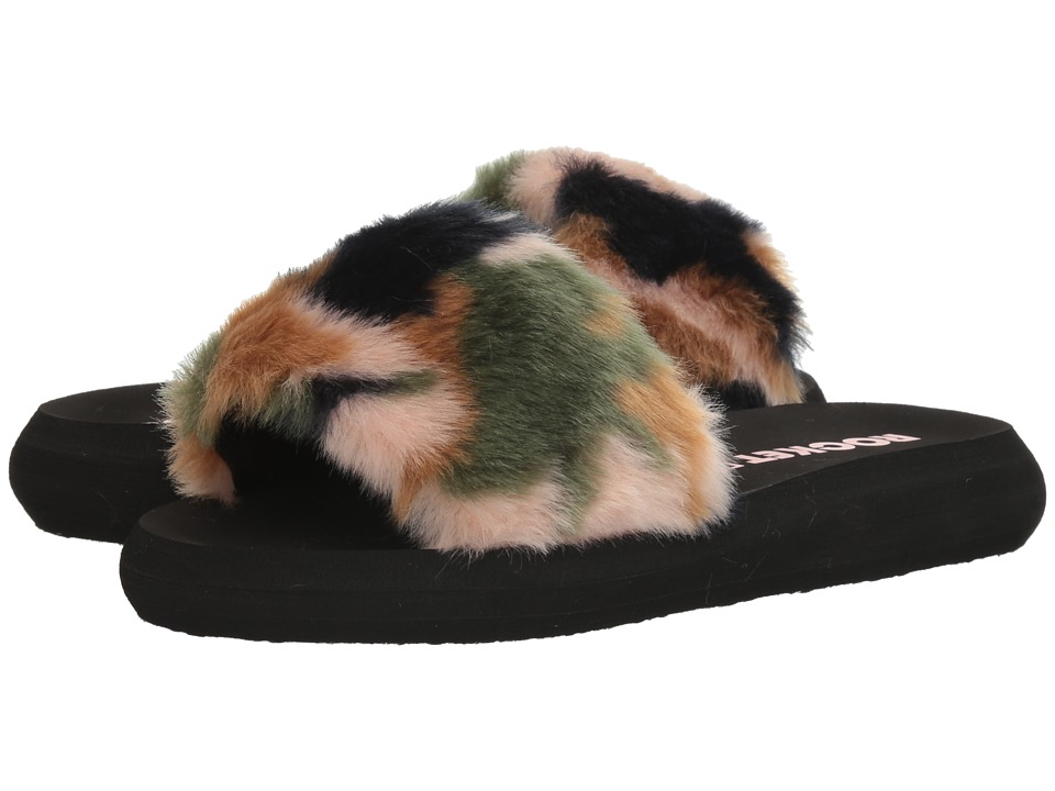 Rocket Dog - Single (Blush Multi Trench Fur) Women's Sandals