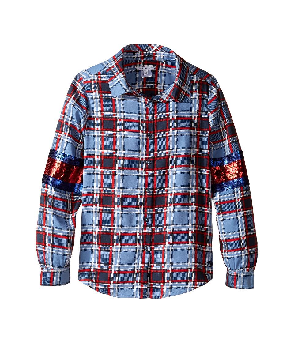 Little Marc Jacobs - Long Sleeve Shirt (Little Kids/Big Kids) (Multicolor) Girl's Clothing