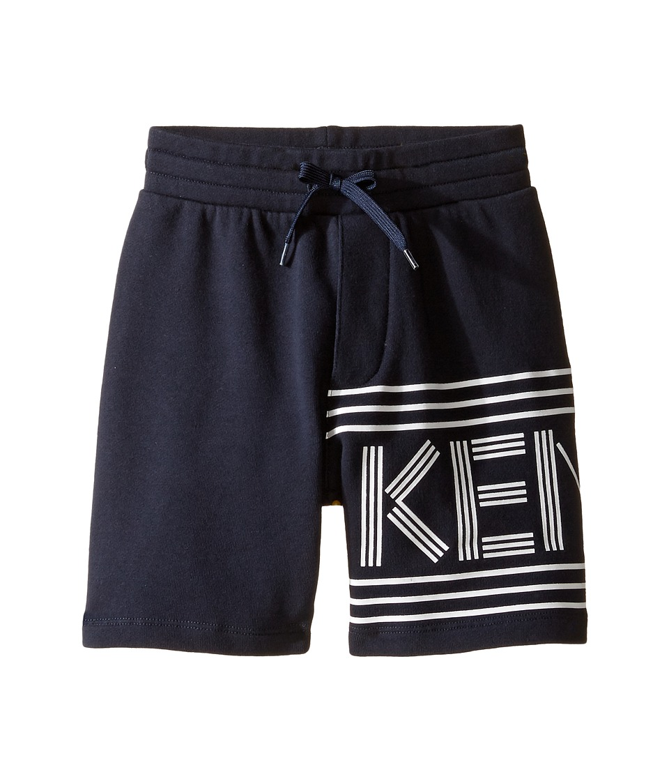 Kenzo Kids - Bilbi Bermuda (Toddler/Little Kids) (Navy) Boy's Shorts