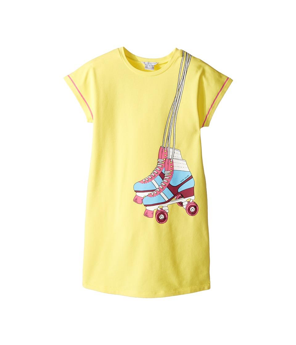 Little Marc Jacobs - Essential Jersey Dress (Little Kids/Big Kids) (Medium Yellow) Girl's Dress