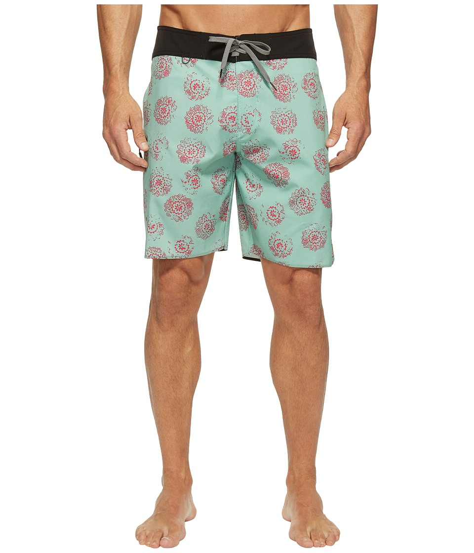 Roark - Savage Boardshorts (Mint) Men's Swimwear