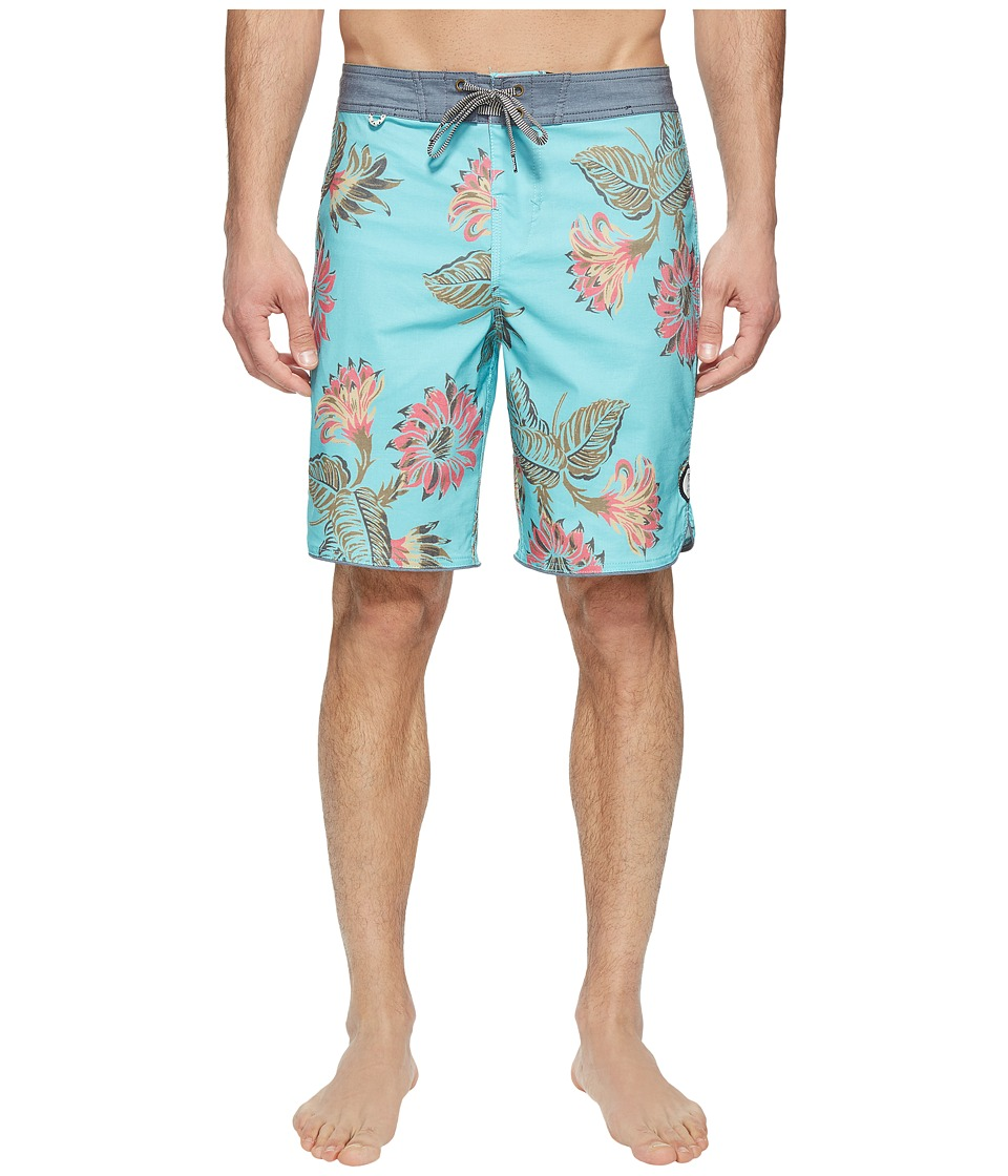 Roark Bala Boardshorts (Sea Foam) Men