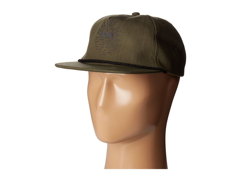 Roark - Captain Fear the Sea Hat (Army Green) Caps