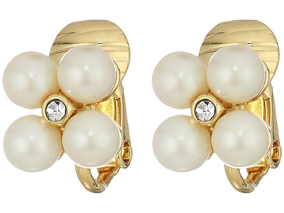 LAUREN Ralph Lauren - Two Dozen Roses 17 in Torsade Necklace (Gold/Pink/Pearl) Earring
