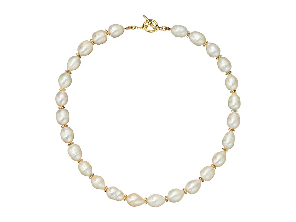 LAUREN Ralph Lauren - Talk that Talk Collar Necklace (Gold/Freshwater Pearl) Necklace