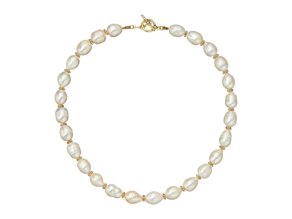 LAUREN Ralph Lauren - Talk that Talk Collar Necklace (Gold/Freshwater Pearl) Necklace