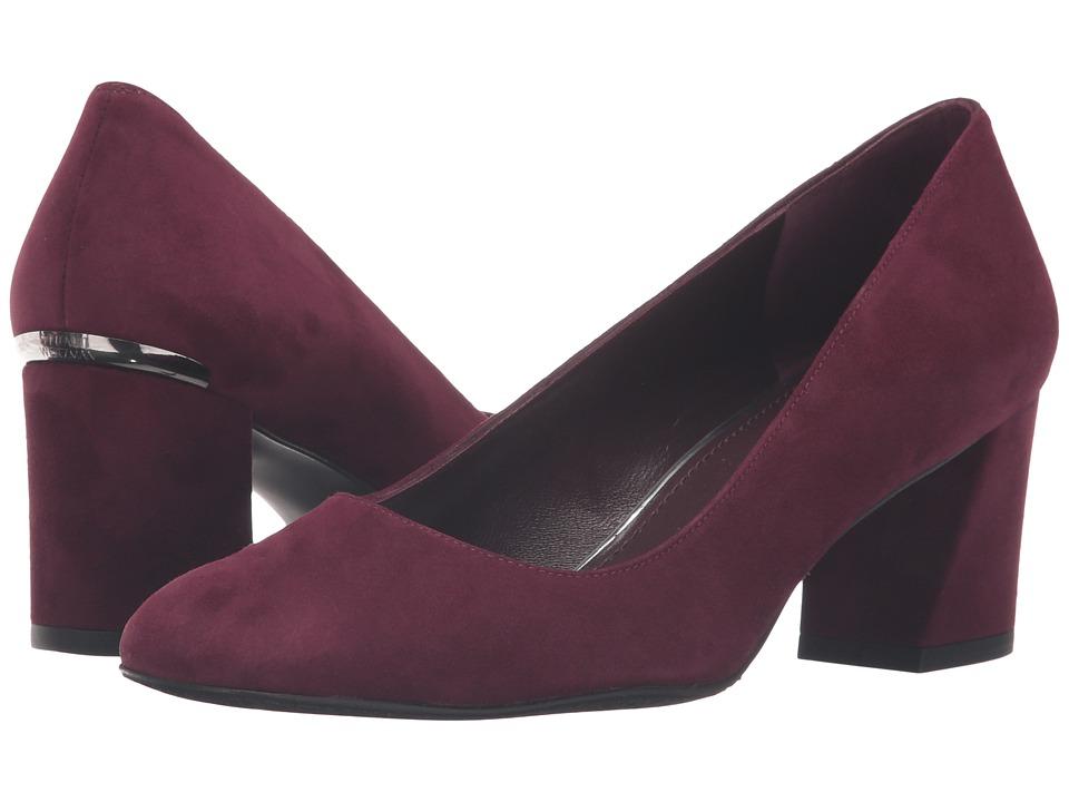 Stuart Weitzman - Marymid (Bordeaux Suede) Women's Shoes