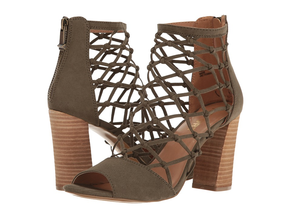Report - Mixie (Olive) High Heels