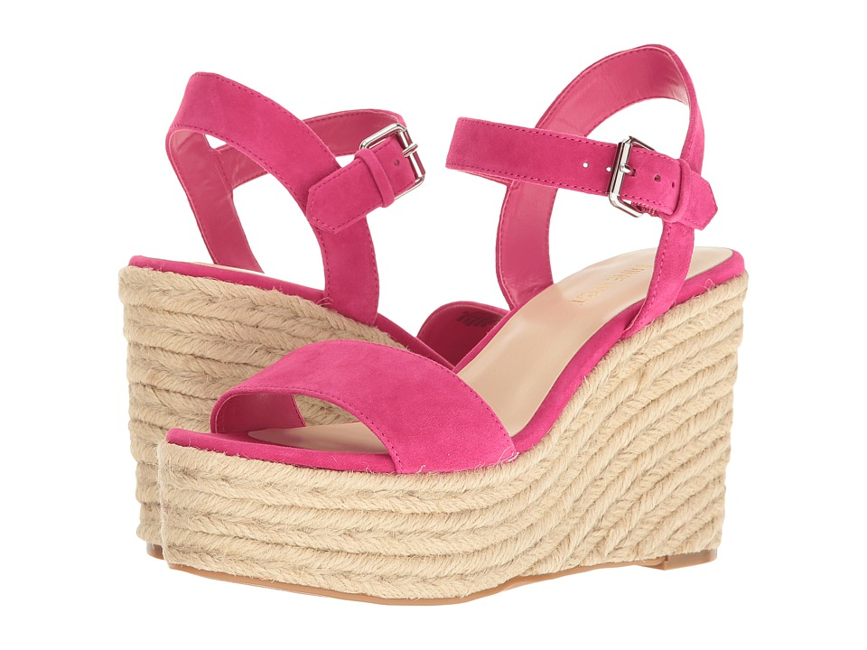 Nine West - Doitright (Electric Fuchsia Suede) Women's Wedge Shoes