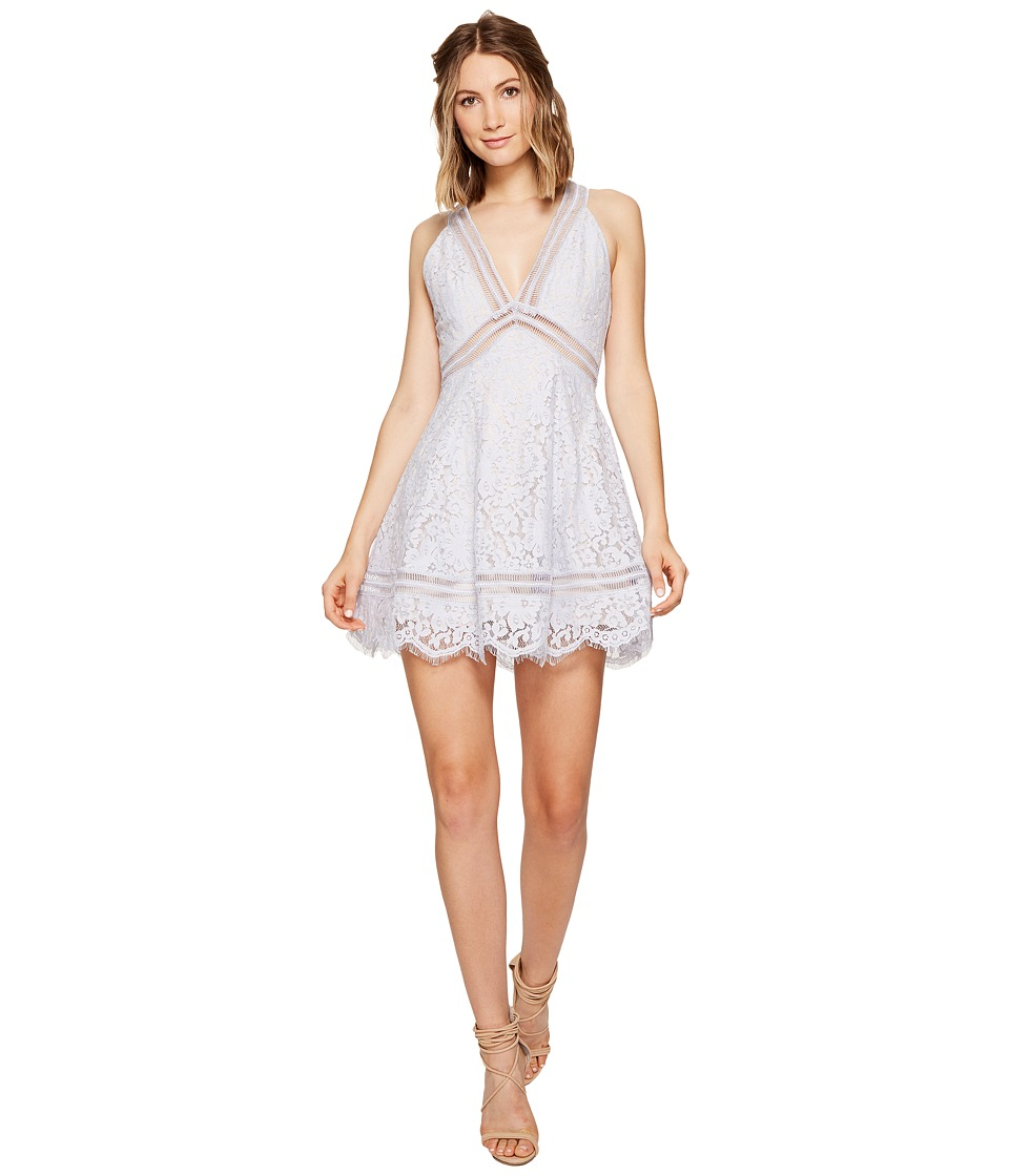 KEEPSAKE THE LABEL - Oblivion Lace Dress (Pale Blue) Women's Dress