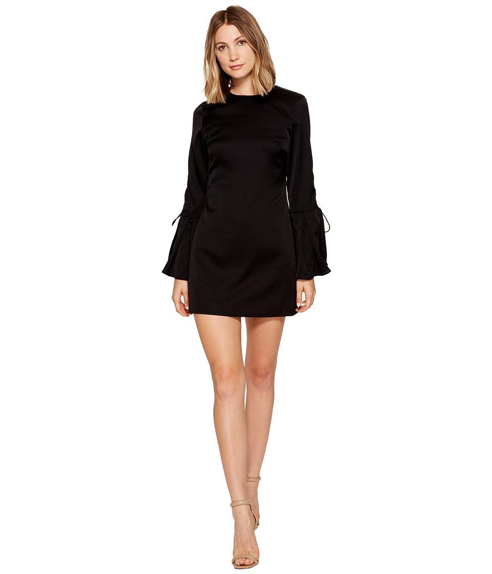 KEEPSAKE THE LABEL Chandelier Long Sleeve Mini Dress (Black) Women