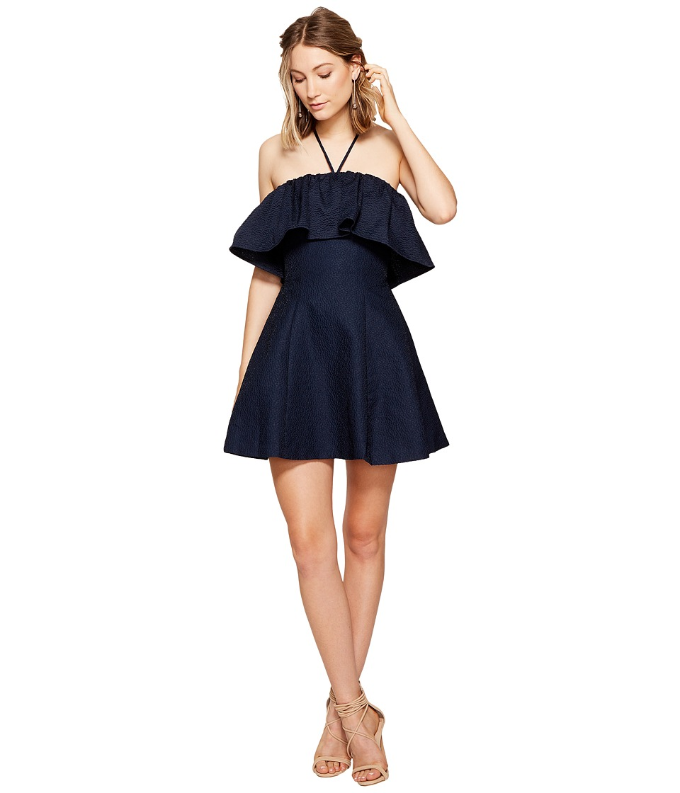 KEEPSAKE THE LABEL - Magnolia Mini Dress (Navy) Women's Dress
