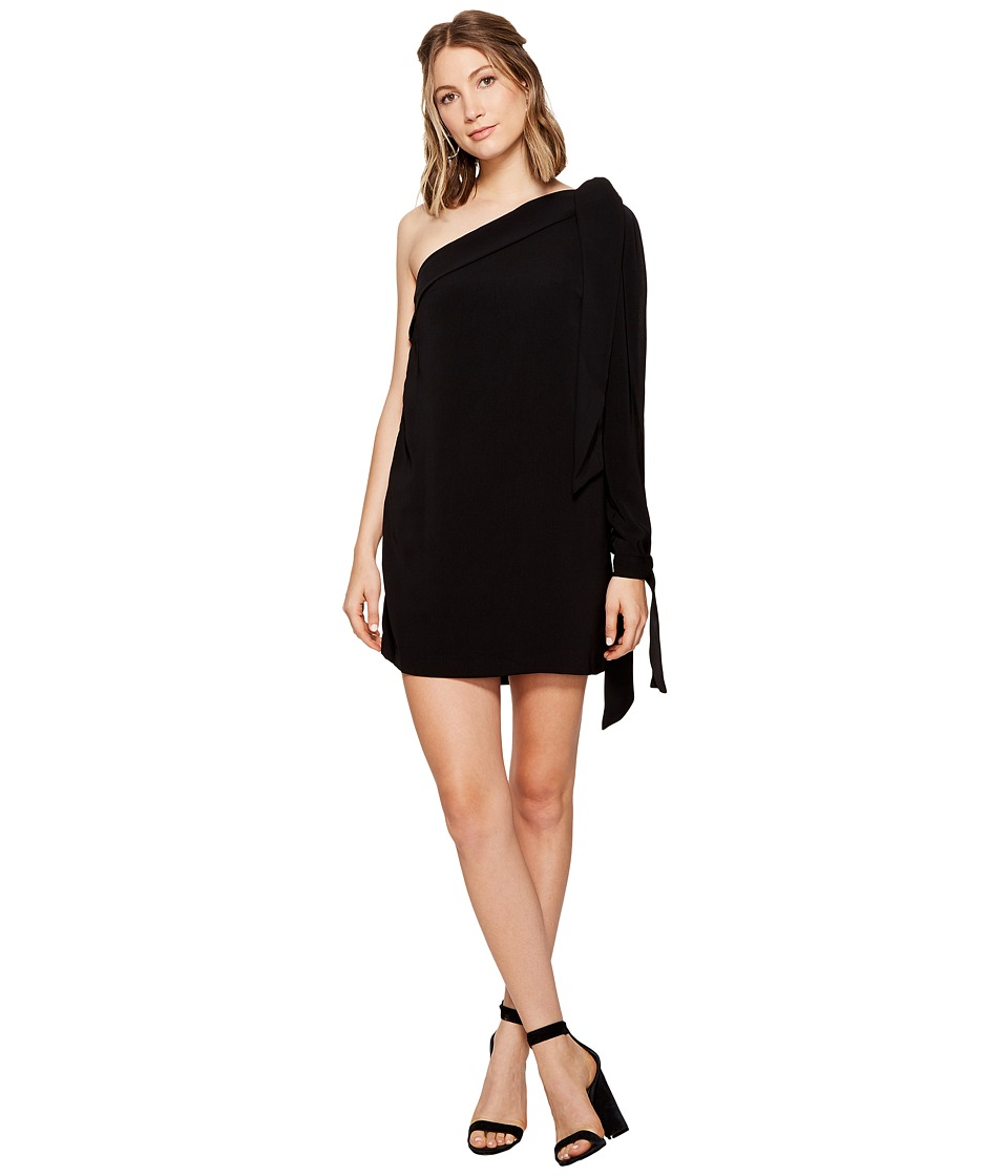 KEEPSAKE THE LABEL - All Tied Up Dress (Black) Women's Dress
