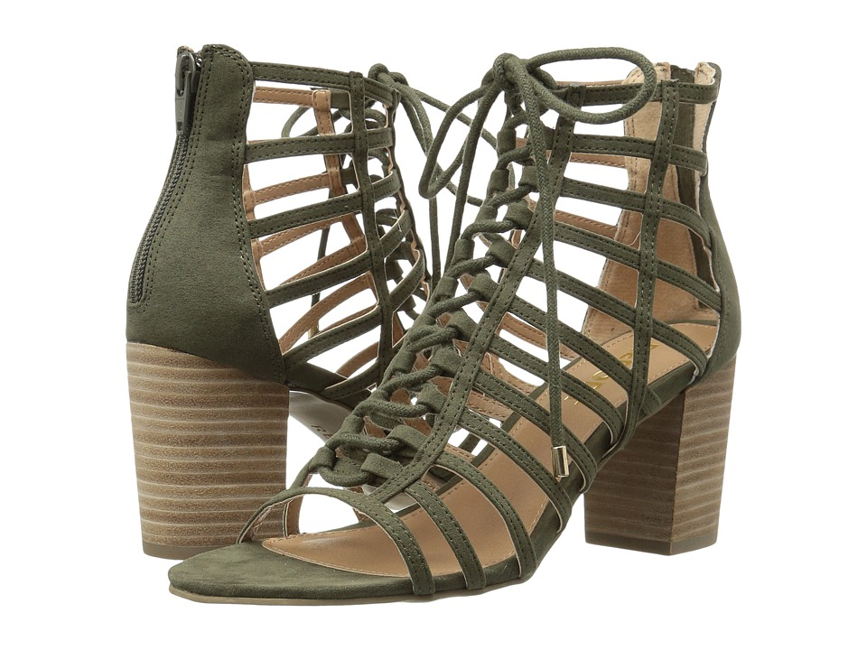 Report - Piper (Olive) High Heels