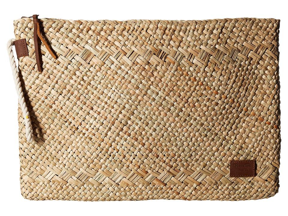 Brixton - Cairo Clutch (Tan) Bags
