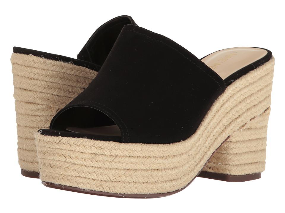 Nine West - Skyrocket (Black Suede) Women's Clog/Mule Shoes