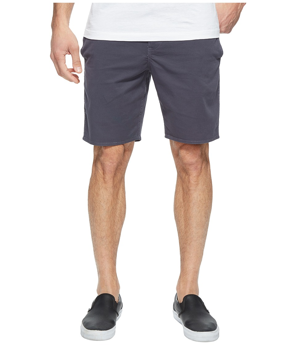 Roark - Well Worn Chino Shorts (Charcoal) Men's Shorts