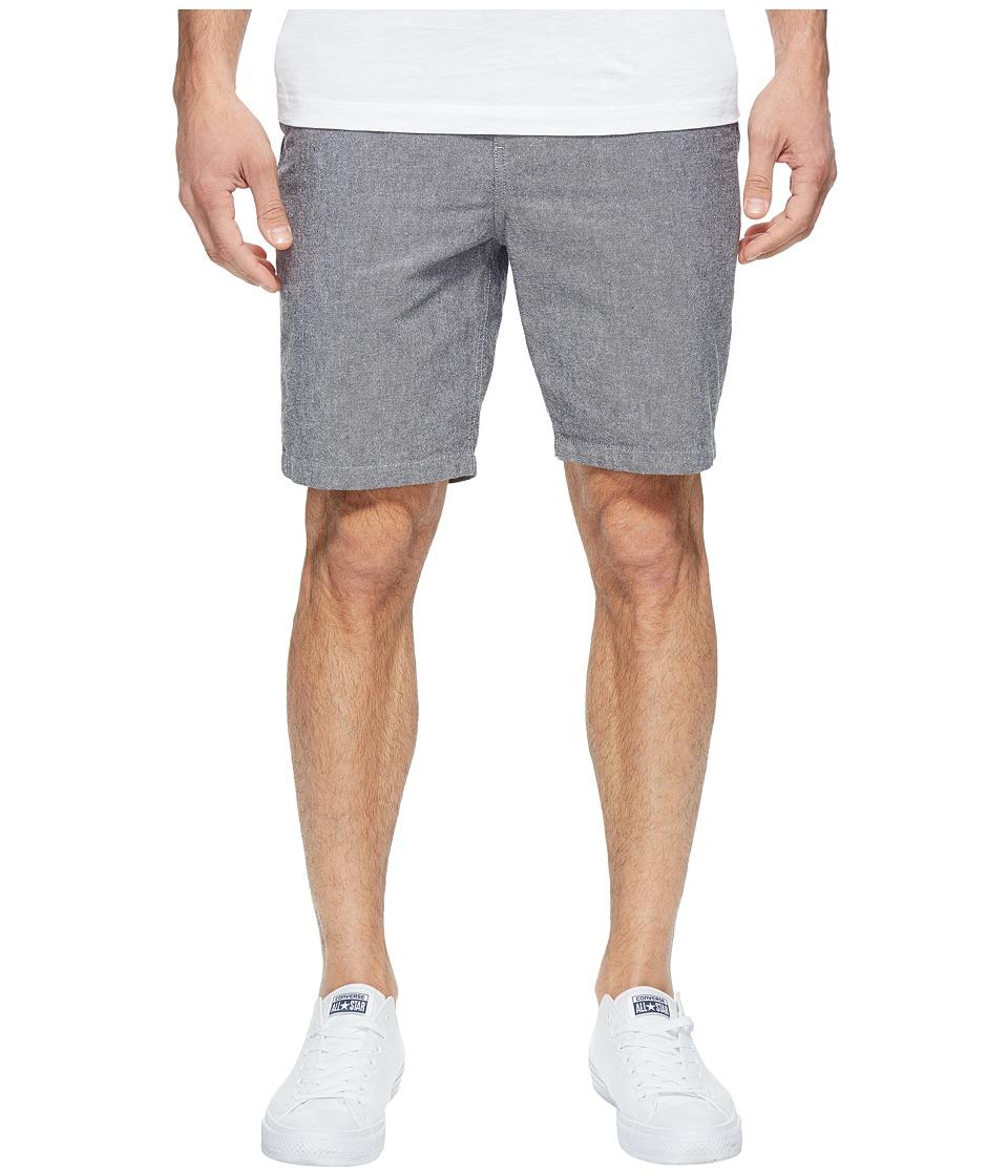 Roark - Porter Chambray Shorts (Black) Men's Shorts