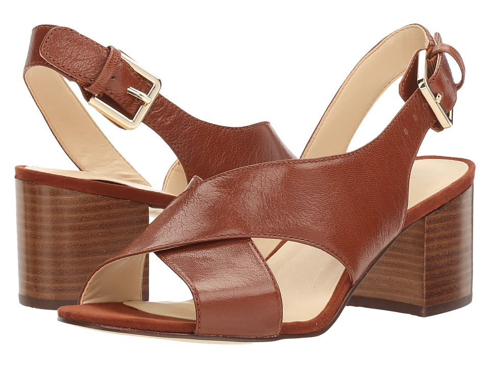 Nine West - GoingSteady (New Saddle/Brown PU) High Heels