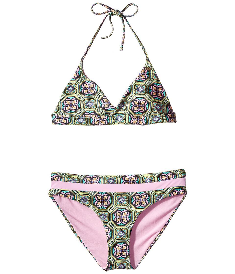 O'Neill Kids - Evelyn Bralette Set (Big Kids) (Multi) Girl's Swimwear Sets