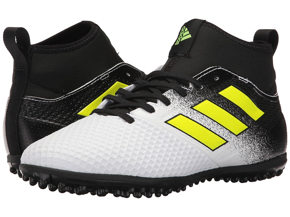 adidas - Ace Tango 17.3 TF (Footwear White/Solar Yellow/Core Black) Men's Soccer Shoes