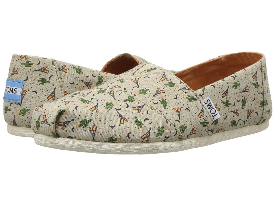 TOMS - Classics (Oxford Tan Teepee (Vegan)) Women's Slip on Shoes