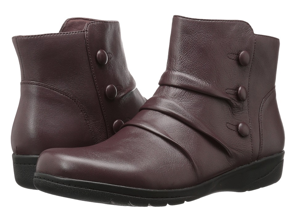 Clarks Cheyn Anne (Burgundy) Women